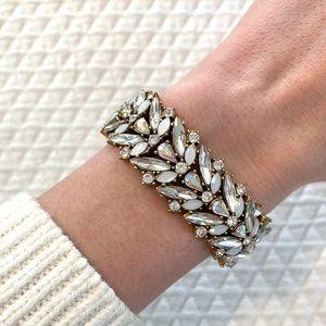 Gorgeous J. Crew Statement Gemstone Bracelet